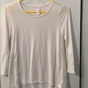 White Justice Top size 8